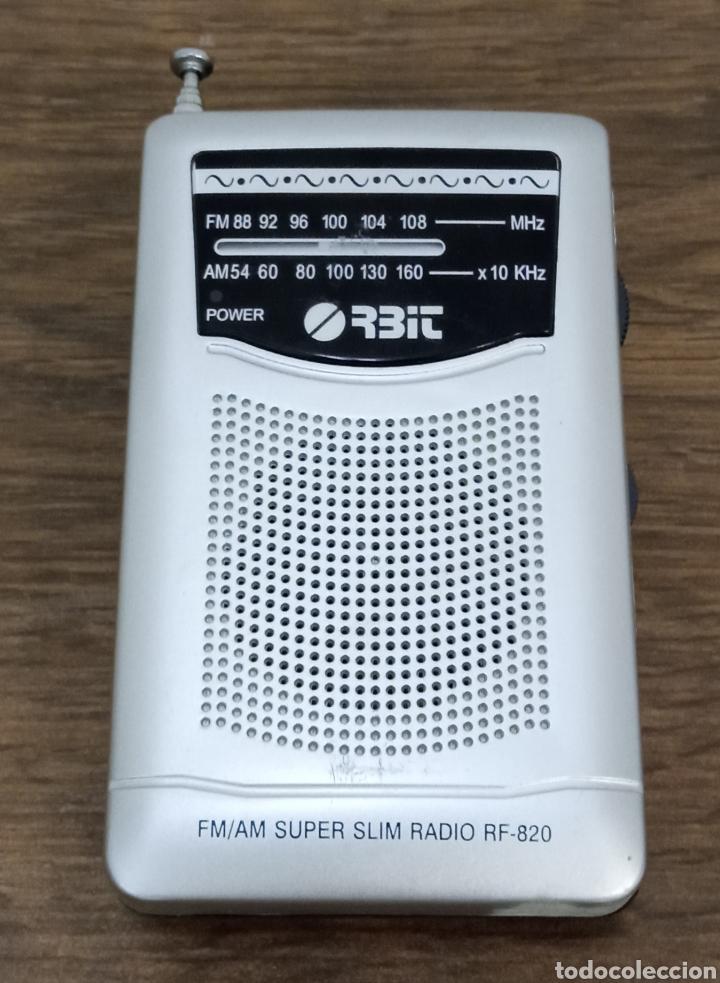 RADIO TRANSISTOR ORBIT RF-820 (Radios, Gramófonos, Grabadoras y Otros - Transistores, Pick-ups y Otros)
