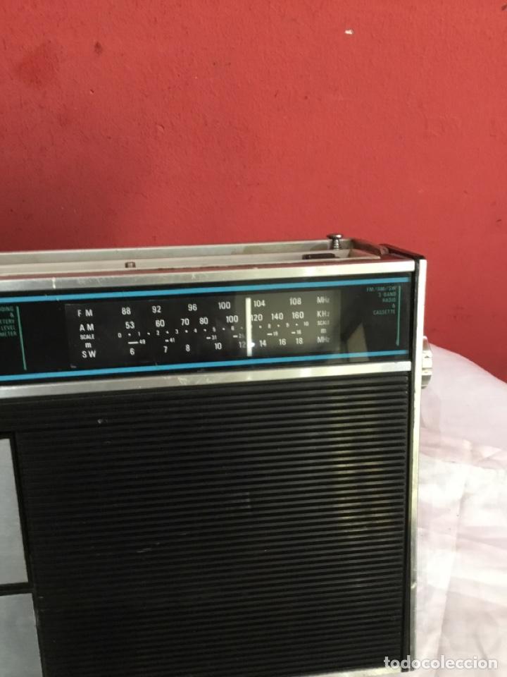 Radios antiguas: RADIO CASSETTE crown made in Korea crc 435 RADIOCASETTE RADIOCASETE RADIOCASET buen estado - Foto 11 - 253529040