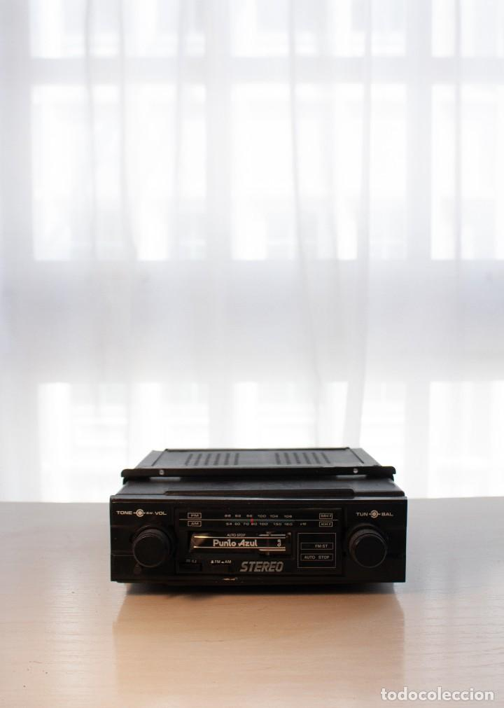 RADIO CASETTE PUNTO AZUL (AÑOS 80) (Radios, Gramófonos, Grabadoras y Otros - Transistores, Pick-ups y Otros)