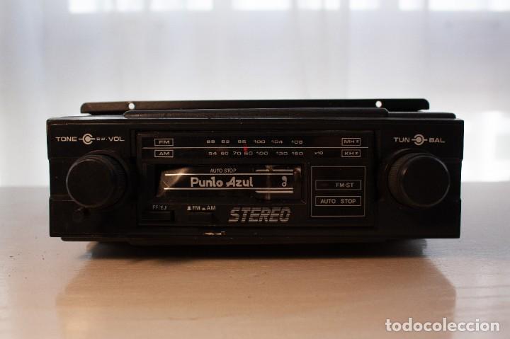 Radios antiguas: Radio Casette Punto Azul (años 80) - Foto 2 - 253573675