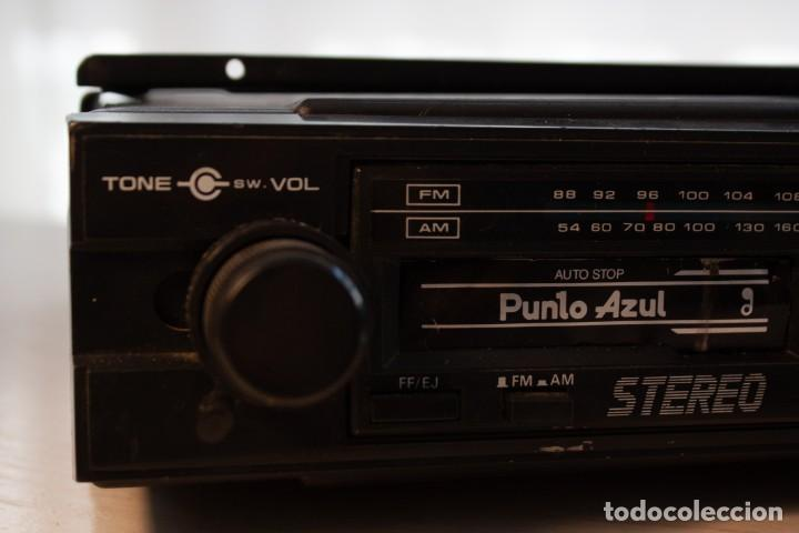 Radios antiguas: Radio Casette Punto Azul (años 80) - Foto 4 - 253573675