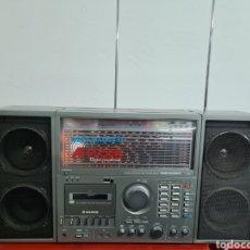 Radio antiche: RADIO CASSETTE SILVER SPACE MASTER 11. Lote 253732910