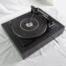 Radios antiguas: TOCADISCOS PLATO BASE DE MADERA INTER TSM 338. Lote 254028115