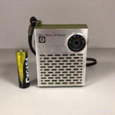 Radios antiguas: RADIO MINI MASTER OF SOUND, FUNCIONA, VER VÍDEO.. Lote 254030100