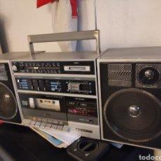 Radios antiguas: RADIO CASSETTE SANYO C12. FUNCIONANDO, MUY BUEN ESTADO. Lote 254172835