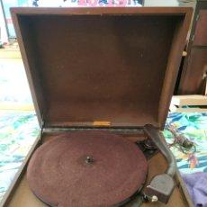 Radios antiguas: TOCADISCOS COLLARO, PARA RESTAURAR. Lote 254212990