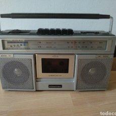 Radios antiguas: RADIO CASSETTE INTERNATIONAL MODELO 3838. FUNCIONANDO!!!. Lote 254270950