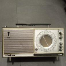 Radios antiguas: RADIO INTER FM -AM AÑOS 1.965/70. Lote 254289120