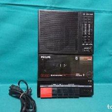 Radios antiguas: CASETE PORTÁTIL GRABADOR PHILIPS D6350, FUNCIONANDO. Lote 254308555