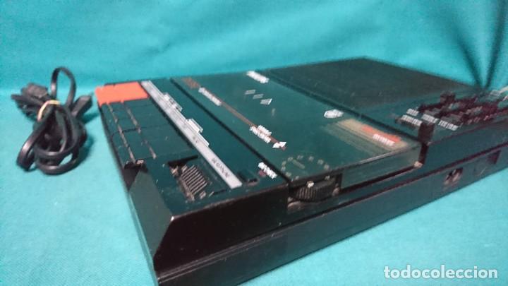 Radios antiguas: CASETE PORTÁTIL GRABADOR PHILIPS D6350, FUNCIONANDO - Foto 3 - 254308555