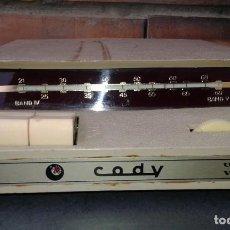 Radios antiguas: ANTIGUO CONVERTIDOR CADY UHF - VHF TV. Lote 254420800