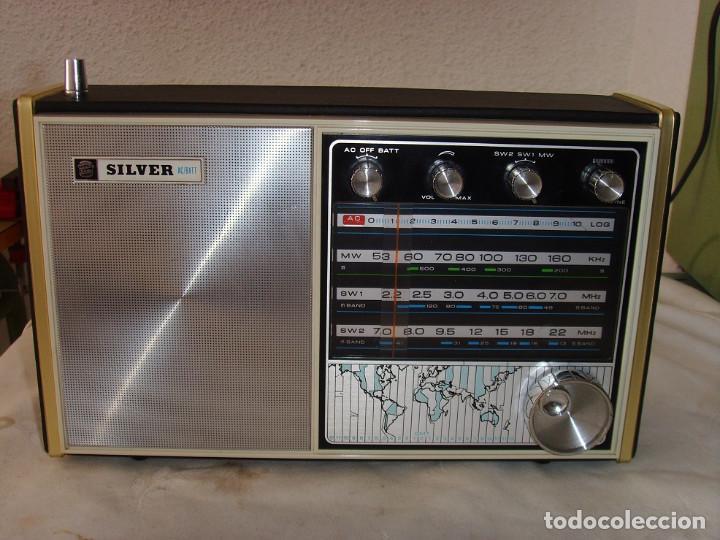 RADIO MULTIBANDAS SILVER 3S323 (Radios, Gramófonos, Grabadoras y Otros - Transistores, Pick-ups y Otros)