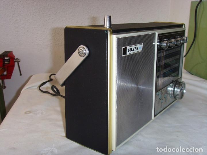 Radios antiguas: RADIO MULTIBANDAS SILVER 3S323 - Foto 3 - 254443555