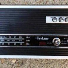 Radios antiguas: RADIO INTER AÑOS 60. Lote 241211940