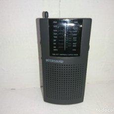 Radios antiguas: RADIO TRANSISTOR INTERSOUND TR17. Lote 254613530