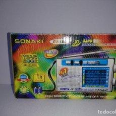 Radios antiguas: RADIO TRANSISTOR SONAKI EV 180. Lote 254675445