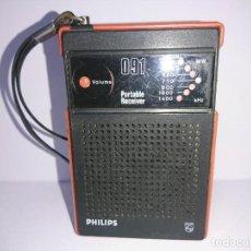 Radios antiguas: RADIO TRANSISTOR PHILIPS 091. Lote 254742745