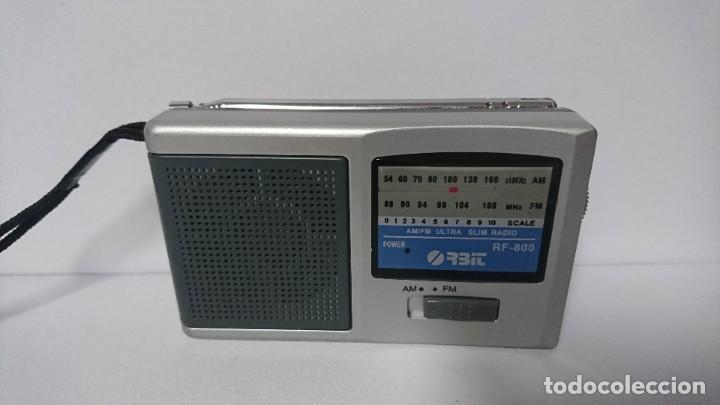 Radios antiguas: Radio transistor Orbit RF800 - Foto 2 - 254791950