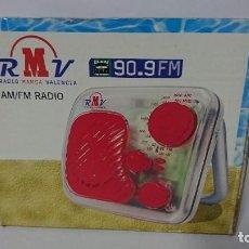 Radios antiguas: RADIO TRANSISTOR RMV. Lote 254792400