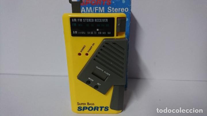 RADIO TRANSISTOR SPORTS AL 522 (Radios, Gramófonos, Grabadoras y Otros - Transistores, Pick-ups y Otros)