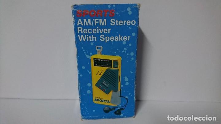 Radios antiguas: Radio transistor Sports Al 522 - Foto 3 - 254987425
