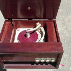 Radios antiguas: TOCADISCOS COLLARO ECACTA. Lote 255538390