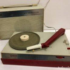 Radios antiguas: MINI TOCADISCOS GUATEQUE VINTAGE. Lote 255622250