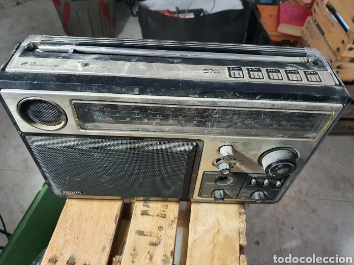 Radios antiguas: Antigua Radio Philips - Foto 2 - 256022900