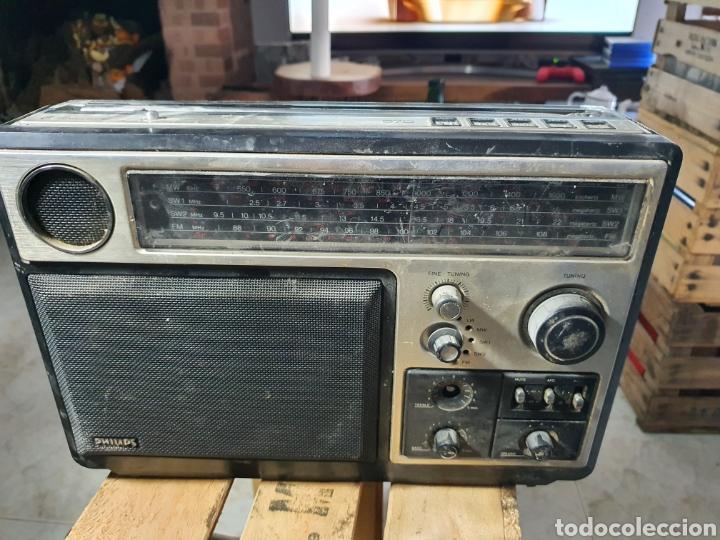 ANTIGUA RADIO PHILIPS (Radios, Gramófonos, Grabadoras y Otros - Transistores, Pick-ups y Otros)