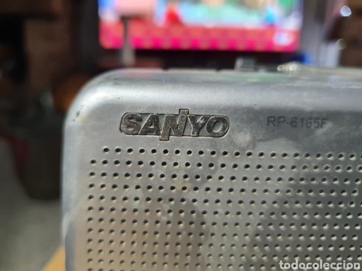 Radios antiguas: Antigua radio Sanyo - Foto 2 - 256030545