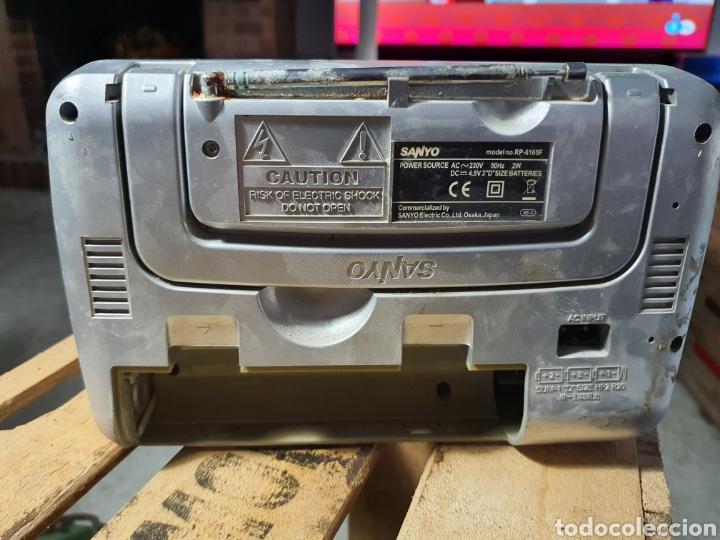 Radios antiguas: Antigua radio Sanyo - Foto 3 - 256030545