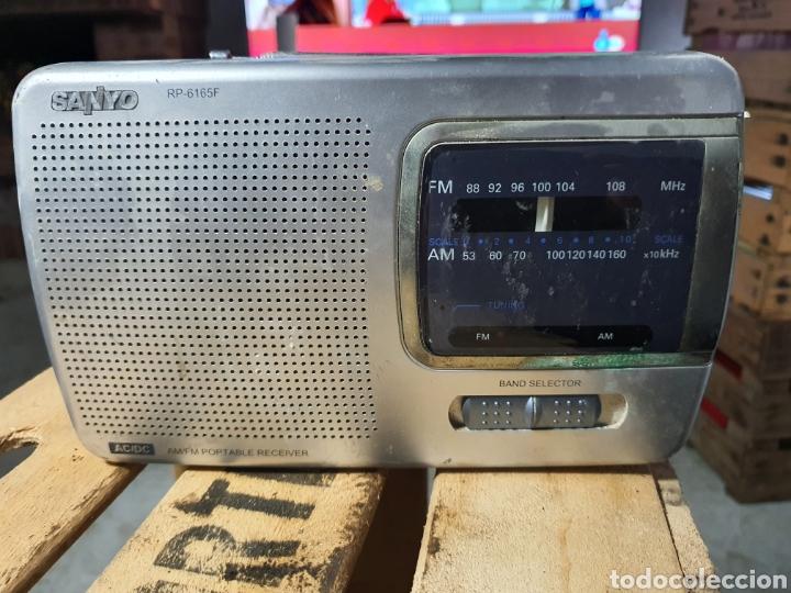 ANTIGUA RADIO SANYO (Radios, Gramófonos, Grabadoras y Otros - Transistores, Pick-ups y Otros)
