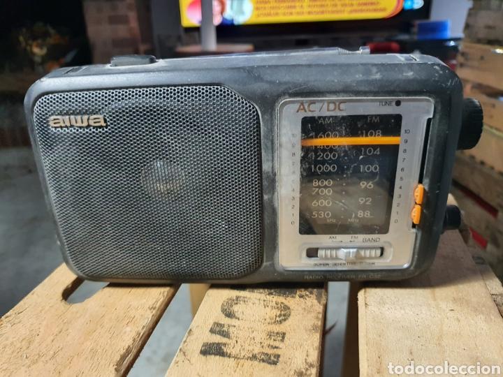 ANTIGUA RADIO AIWA (Radios, Gramófonos, Grabadoras y Otros - Transistores, Pick-ups y Otros)