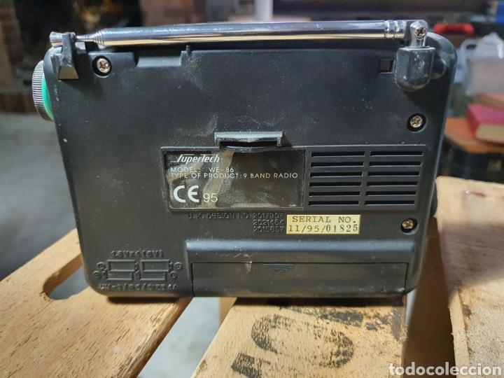 Radios antiguas: Antigua Radio SUPERTECH - Foto 2 - 256038110