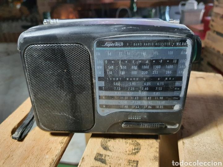 ANTIGUA RADIO SUPERTECH (Radios, Gramófonos, Grabadoras y Otros - Transistores, Pick-ups y Otros)