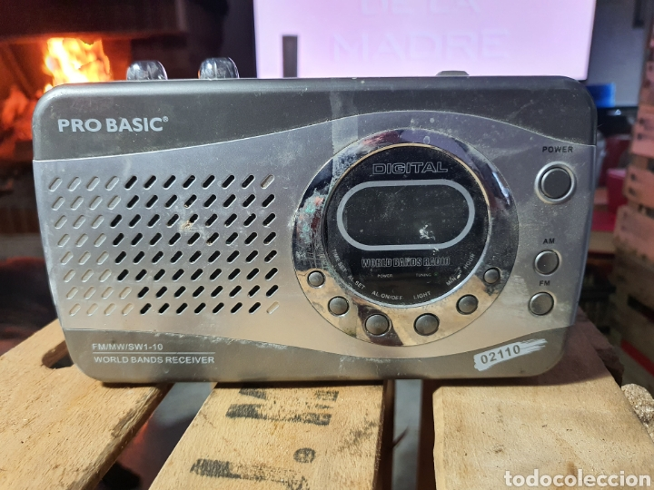 ANTIGUA RADIO PRO BASIC (Radios, Gramófonos, Grabadoras y Otros - Transistores, Pick-ups y Otros)