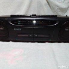 Radios antiguas: RADIO CASSETTE PHILIPS. Lote 256082790