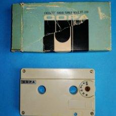 Radios antiguas: RADIO SINTONIZADOR. PARA ESCUCHAR A TRAVES DE UN CASSETTE. ENVIO CERTIFICADO INCLUIDO.. Lote 257497605