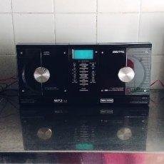 Radios antiguas: WELLTECH 40527, REPRODUCTOR MP3, CASETE, CD, Y ALTAVOCES, TOTALMENTE NUEVO. Lote 257522060