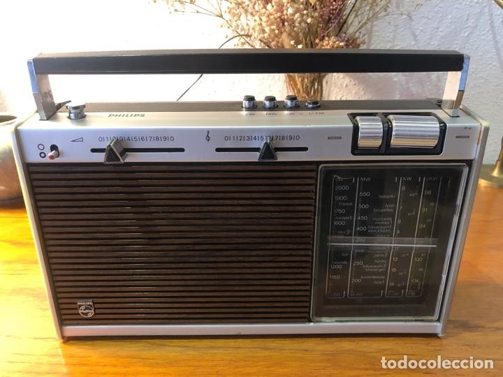 RADIO PHILIPHS VINTAGE AÑOS 70 (Radios, Gramófonos, Grabadoras y Otros - Transistores, Pick-ups y Otros)