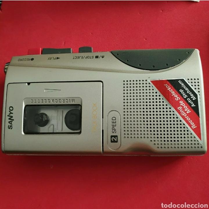 Radios antiguas: Sanyo TRC-530M Grabadora de voz Microcasete - Foto 5 - 259209635