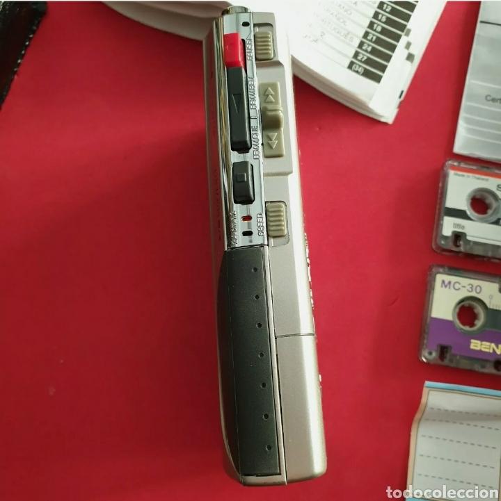 Radios antiguas: Sanyo TRC-530M Grabadora de voz Microcasete - Foto 6 - 259209635