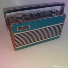 Radios antiguas: PRECIOSO RADIO TRANSISTOR RAMBLER VINTAGE AÑOS 60'S. Lote 260093330