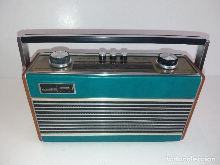 Radios antiguas: PRECIOSO RADIO TRANSISTOR RAMBLER VINTAGE AÑOS 60s - Foto 2 - 260093330