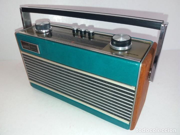 Radios antiguas: PRECIOSO RADIO TRANSISTOR RAMBLER VINTAGE AÑOS 60s - Foto 3 - 260093330