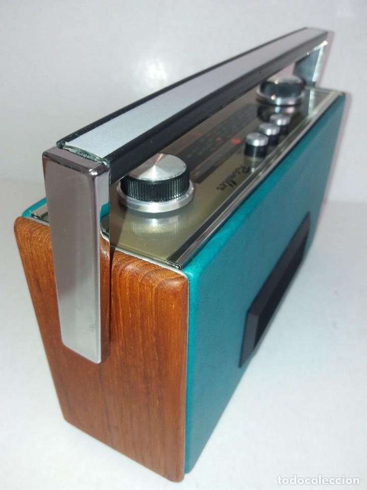 Radios antiguas: PRECIOSO RADIO TRANSISTOR RAMBLER VINTAGE AÑOS 60s - Foto 5 - 260093330