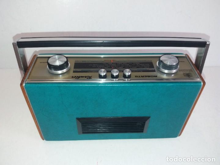 Radios antiguas: PRECIOSO RADIO TRANSISTOR RAMBLER VINTAGE AÑOS 60s - Foto 6 - 260093330
