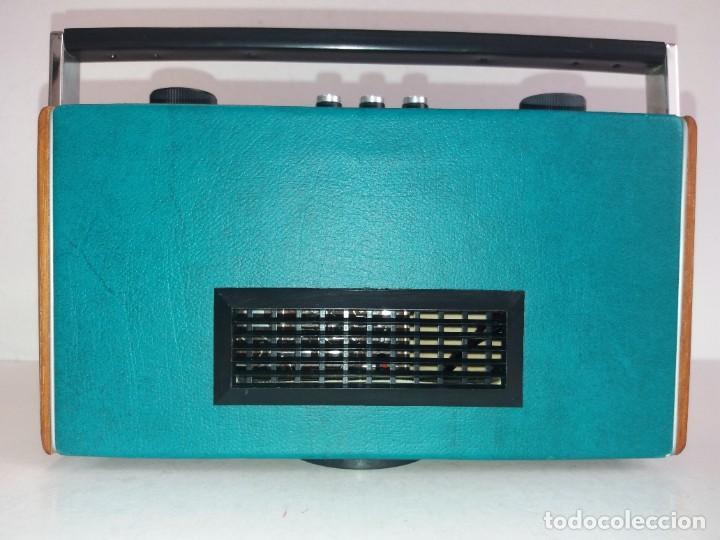Radios antiguas: PRECIOSO RADIO TRANSISTOR RAMBLER VINTAGE AÑOS 60s - Foto 7 - 260093330