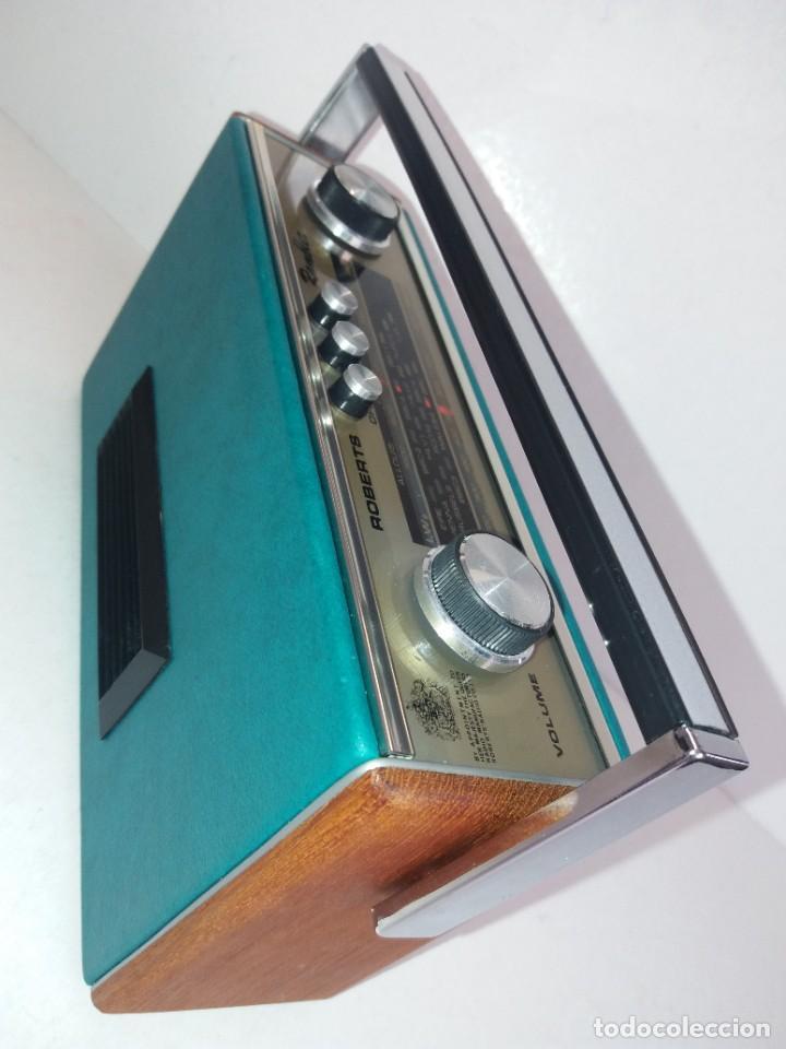 Radios antiguas: PRECIOSO RADIO TRANSISTOR RAMBLER VINTAGE AÑOS 60s - Foto 8 - 260093330