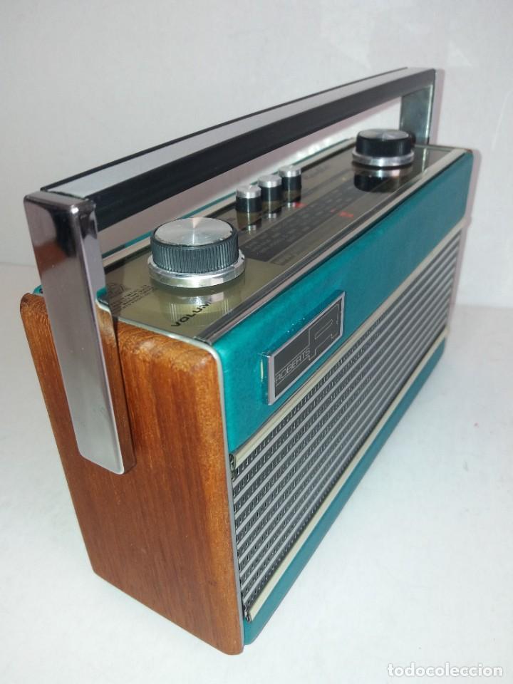 Radios antiguas: PRECIOSO RADIO TRANSISTOR RAMBLER VINTAGE AÑOS 60s - Foto 9 - 260093330